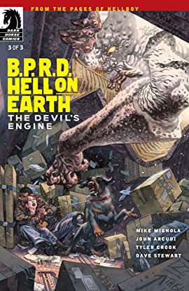 B.P.R.D. Hell on Earth: The Devil's Engine #3