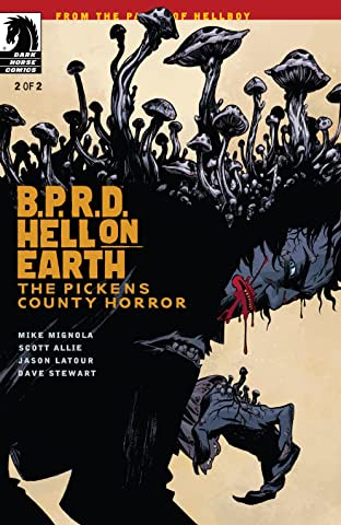 B.P.R.D. Hell on Earth: The Pickens County Horror #2
