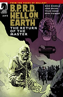 B.P.R.D. Hell on Earth #2: The Return of the Master #2