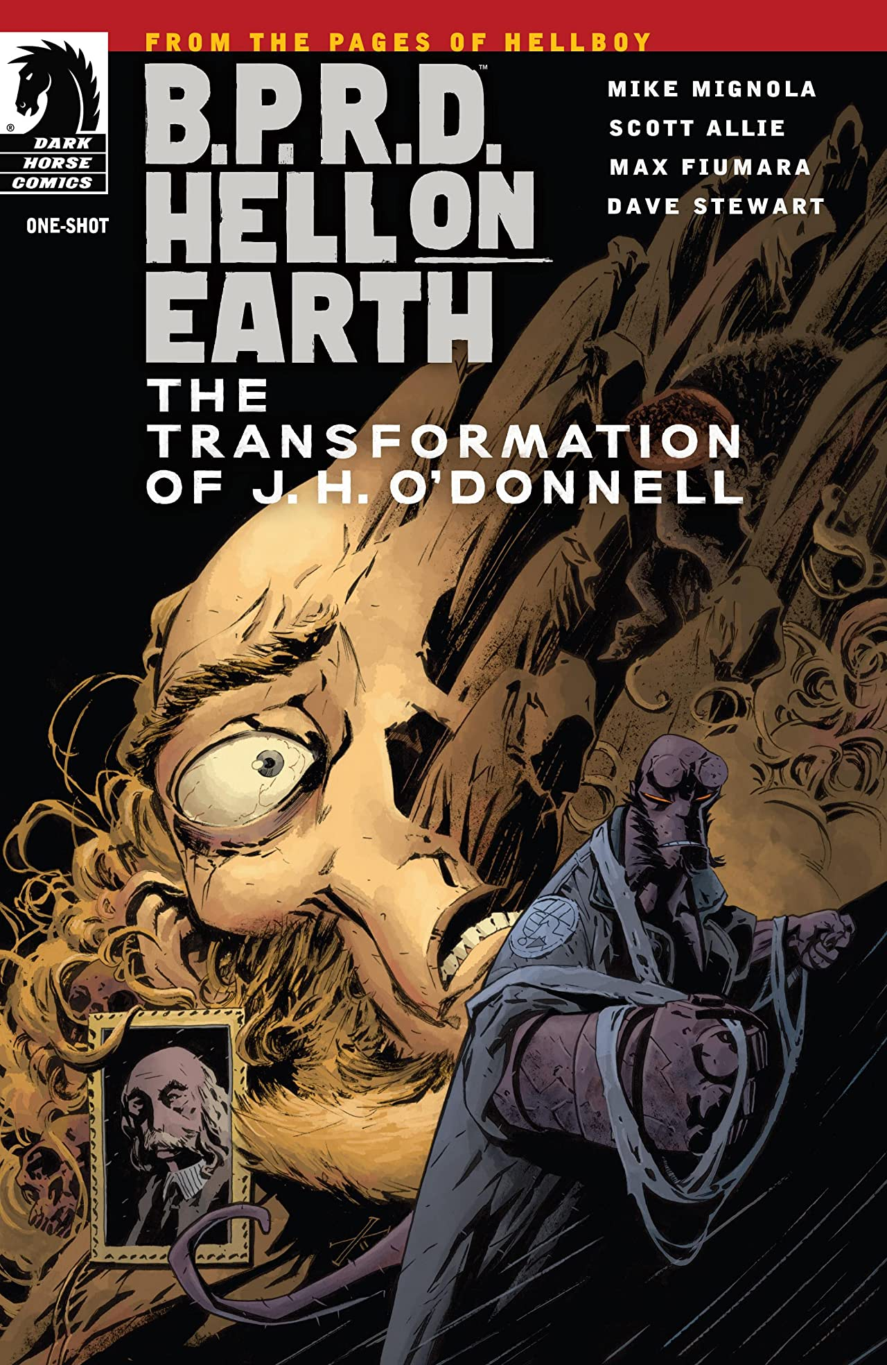 B.P.R.D.: Hell on Earth: The Transformation of J. H. O'Donnell #1