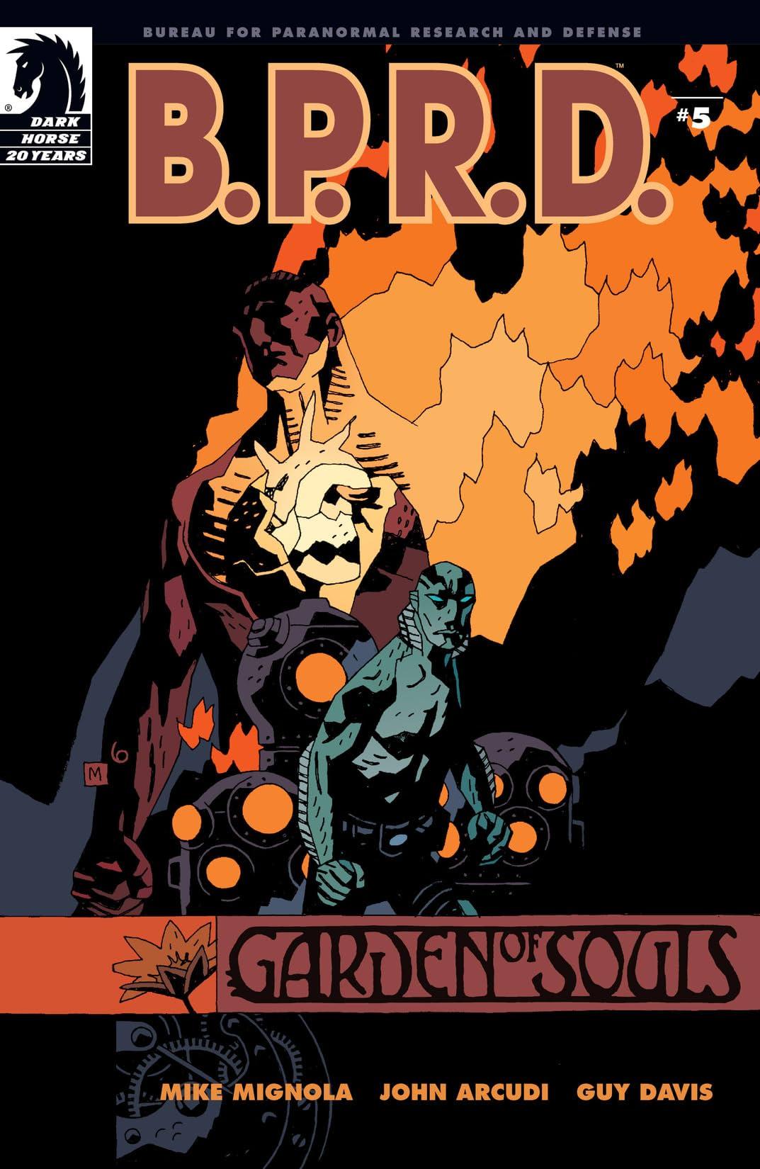 B.P.R.D.: Garden of Souls #5