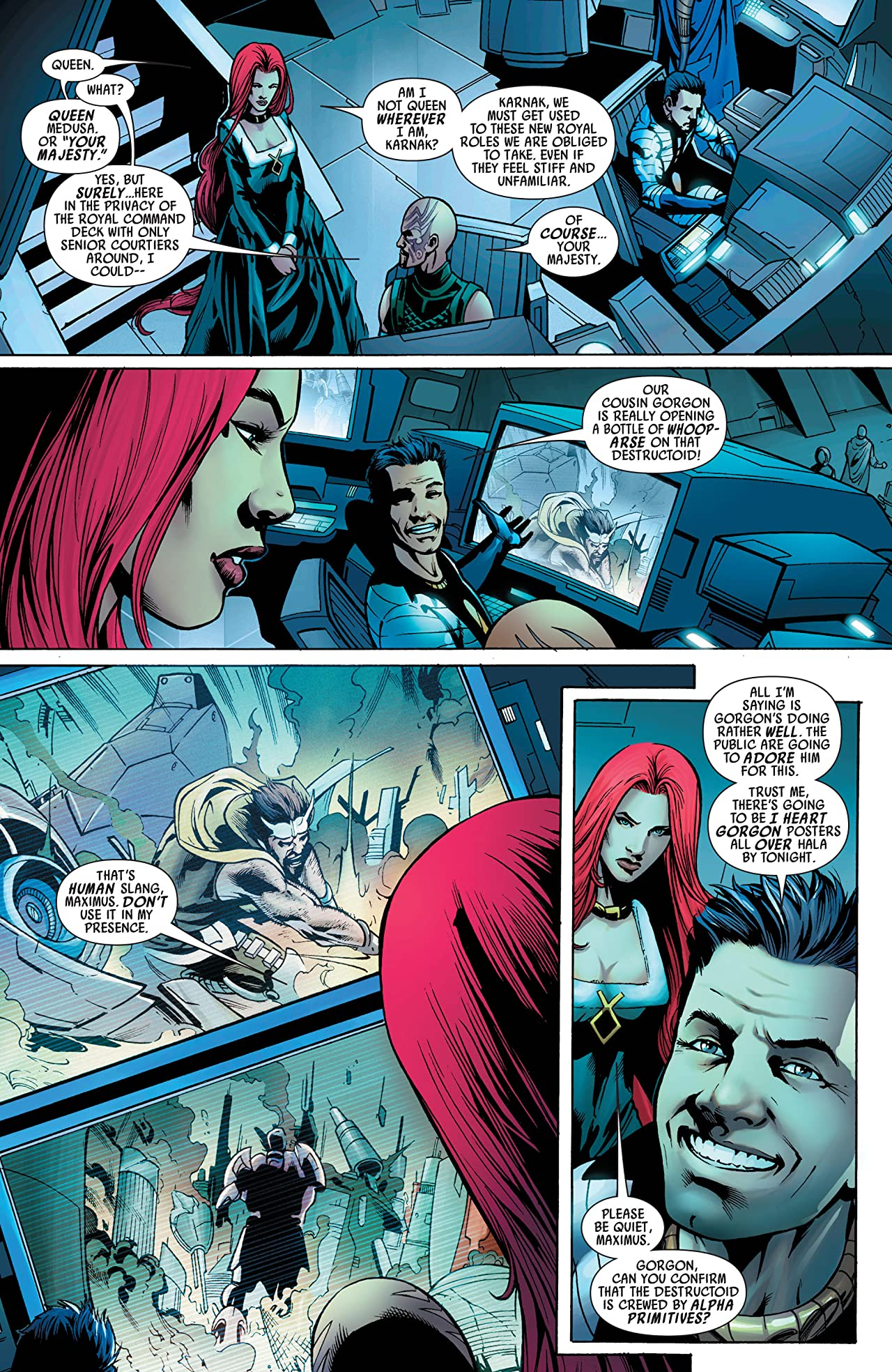 Realm of Kings: Inhumans #3 (of 5)