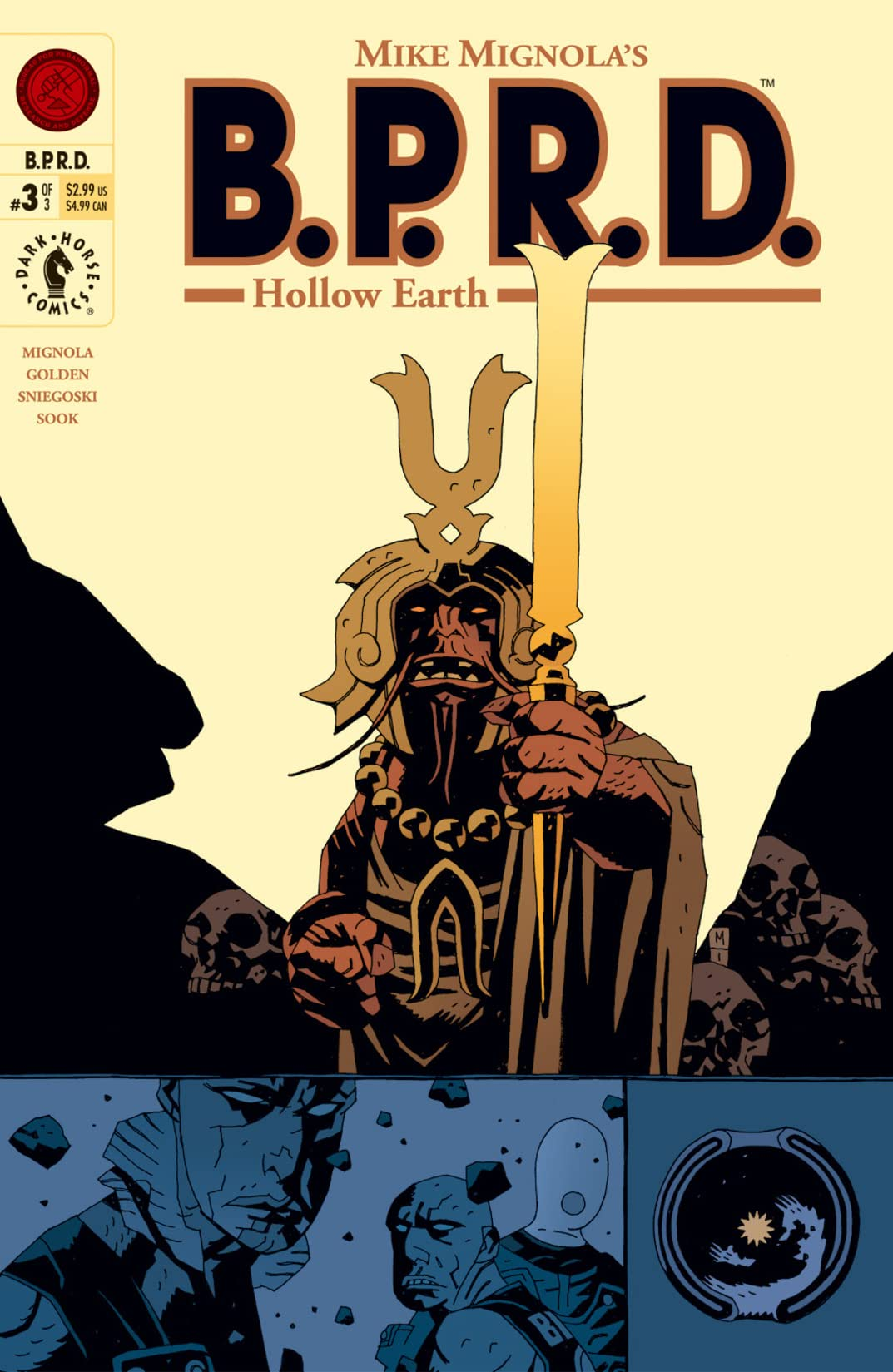 B.P.R.D.: Hollow Earth #3