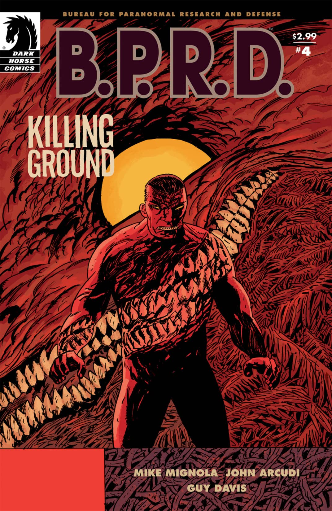 B.P.R.D.: Killing Ground #4