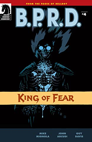 B.P.R.D.: King of Fear #4