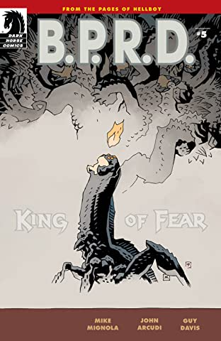 B.P.R.D.: King of Fear #5