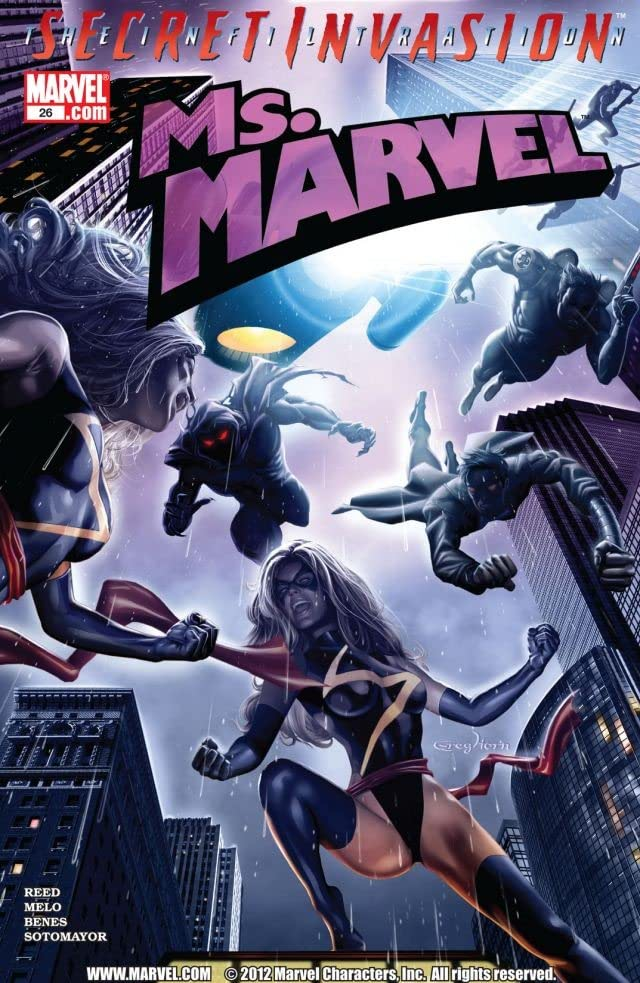 Ms. Marvel (2006-2010) #26