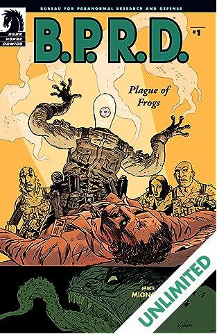 B.P.R.D.: Plague of Frogs #1