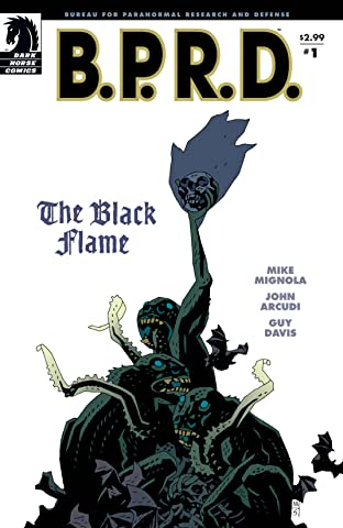B.P.R.D.: The Black Flame #1