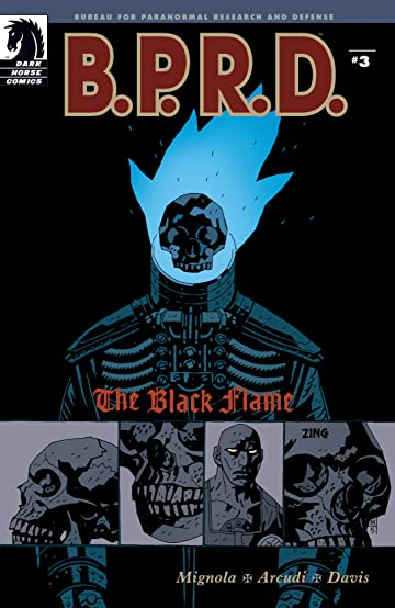 B.P.R.D.: The Black Flame #3