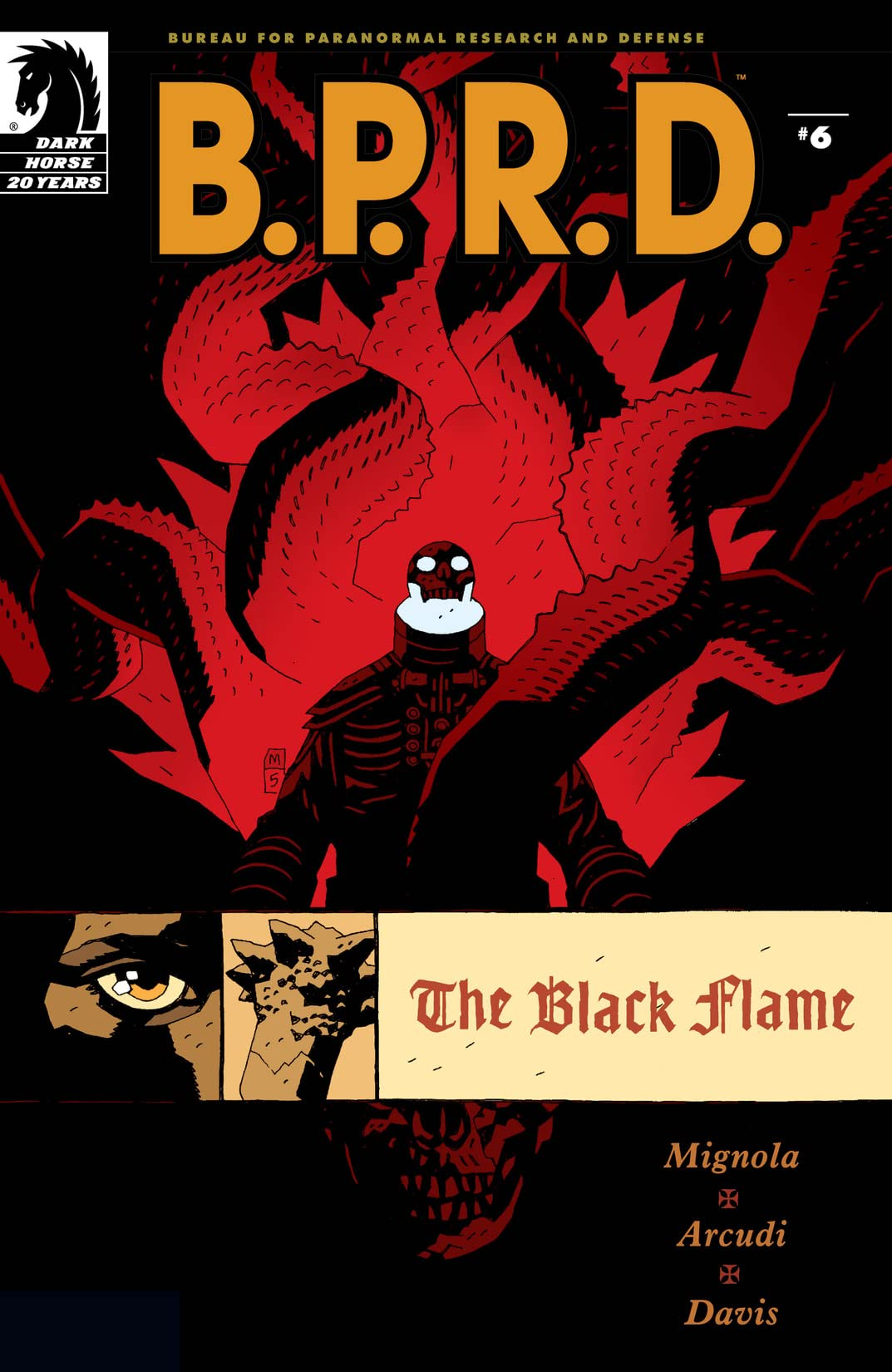 B.P.R.D.: The Black Flame #6