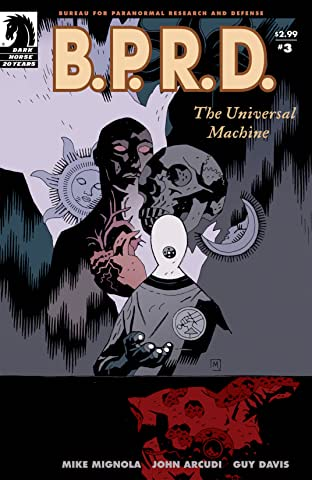 B.P.R.D.: The Universal Machine #3