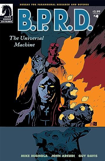 B.P.R.D.: The Universal Machine #4