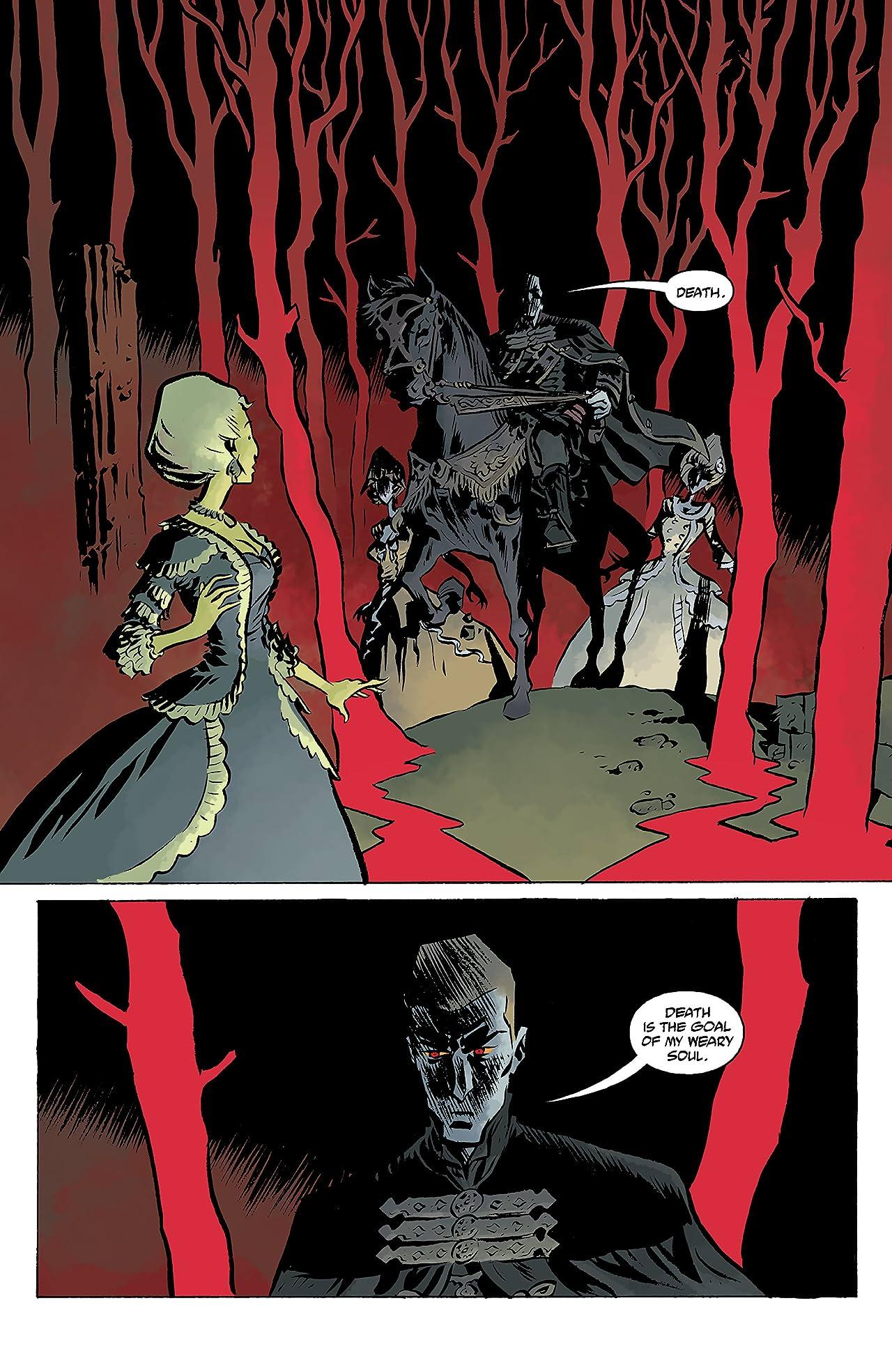 B.P.R.D.: Vampire #4