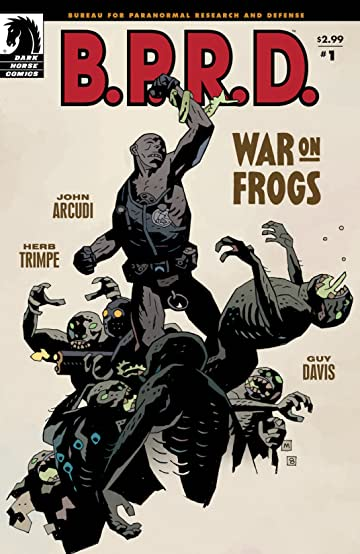 B.P.R.D.: War on Frogs #1