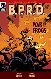 B.P.R.D.: War on Frogs #3