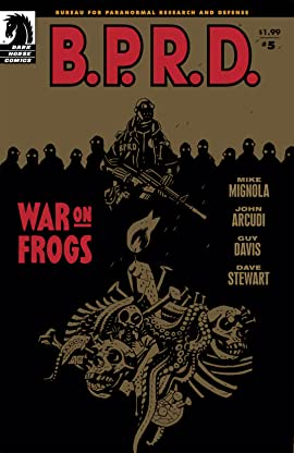 B.P.R.D.: War on Frogs #5