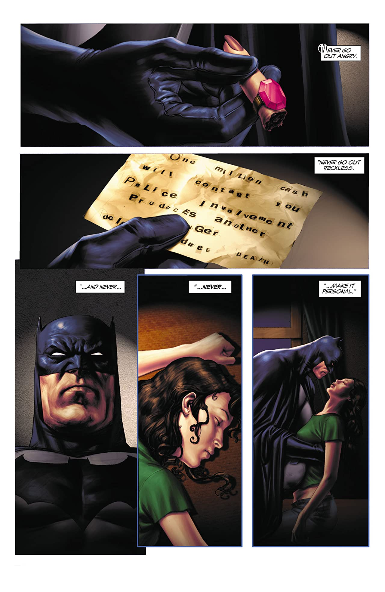Batman: Legends of the Dark Knight #208