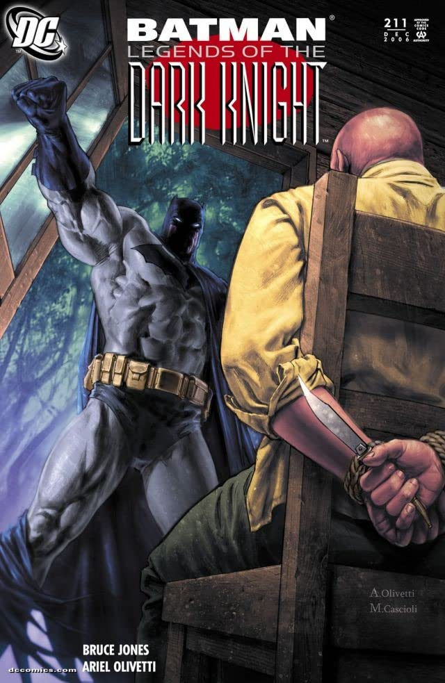Batman: Legends of the Dark Knight #211