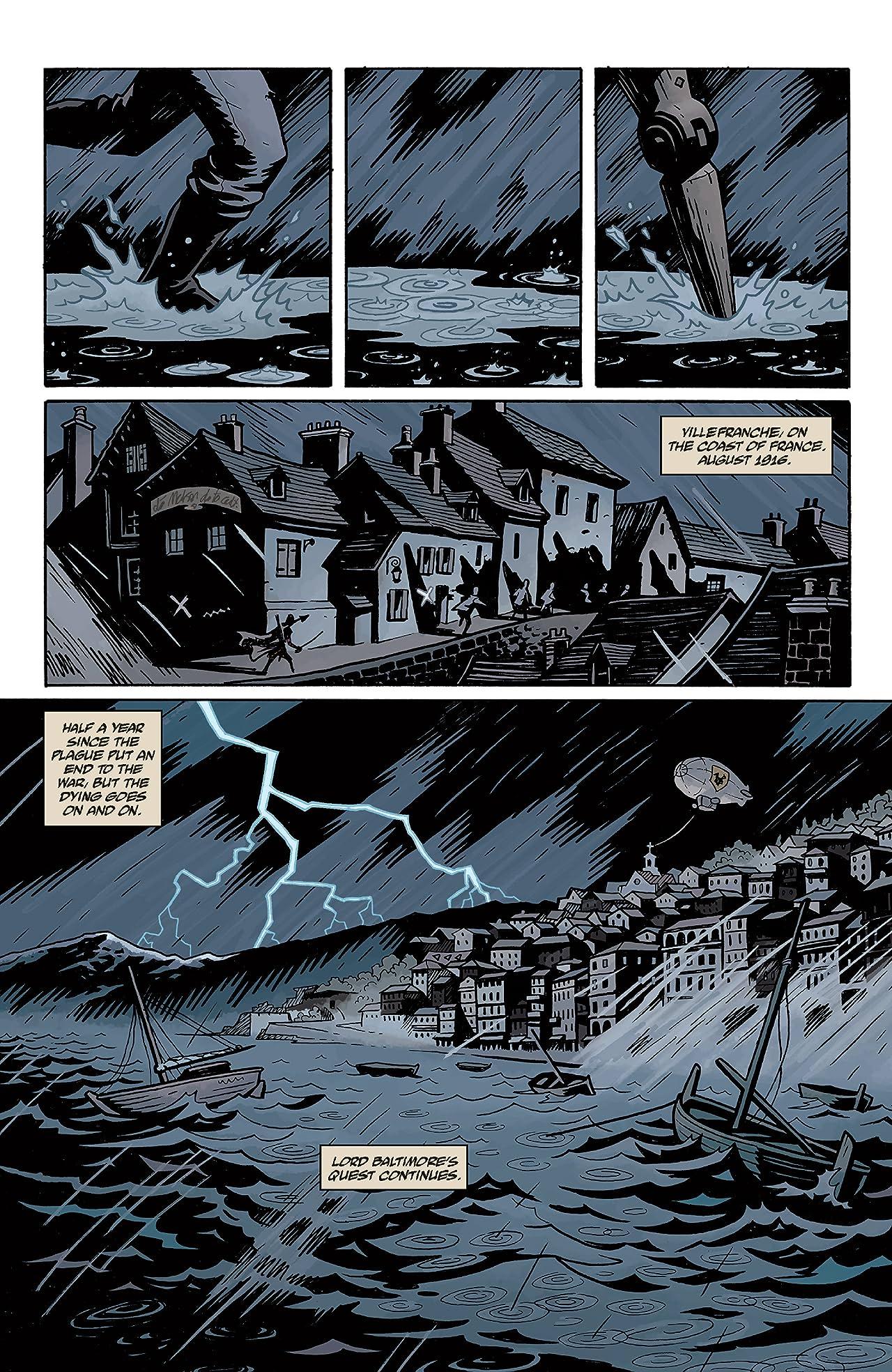 Baltimore: The Plague Ships #1