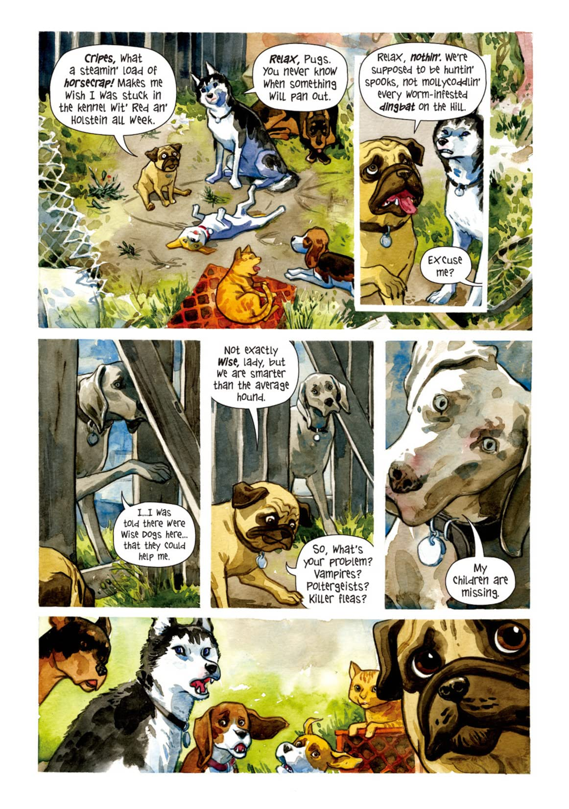 Beasts of Burden #2