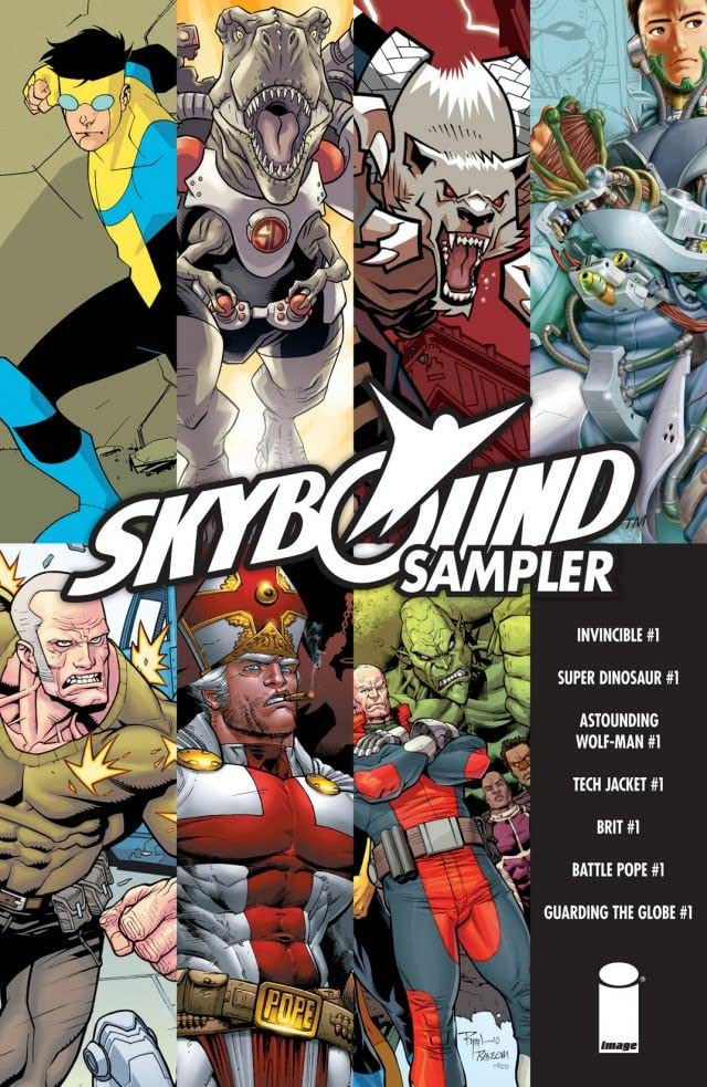 SDCC Skybound Sampler