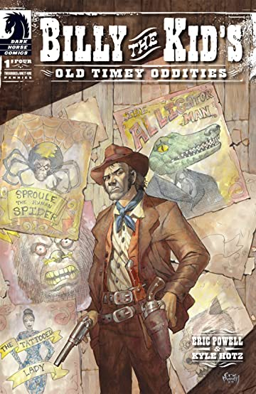 Billy the Kid's Old Timey Oddities #1