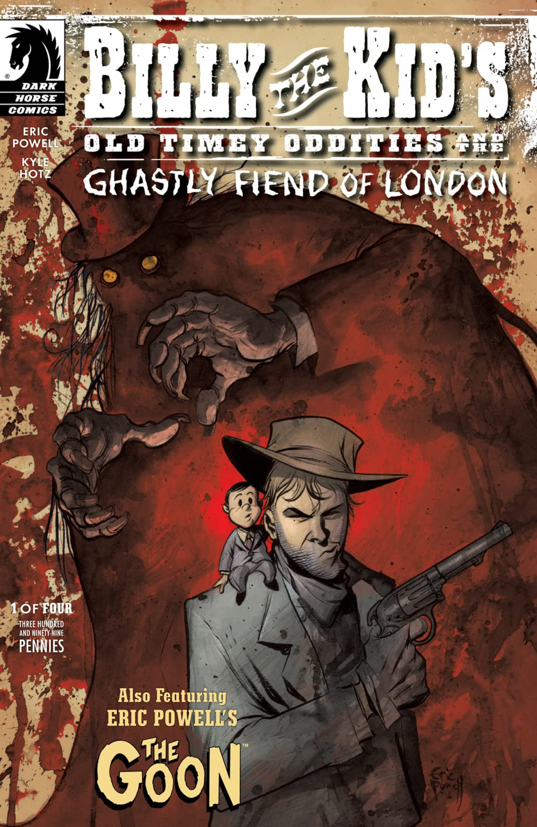 Billy the Kid's Old Timey Oddities and the Ghastly Fiend of London #1