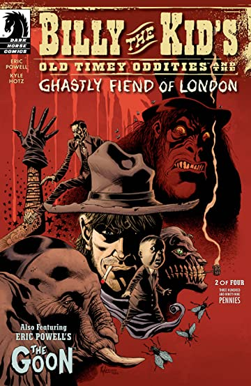 Billy the Kid's Old Timey Oddities and the Ghastly Fiend of London #2