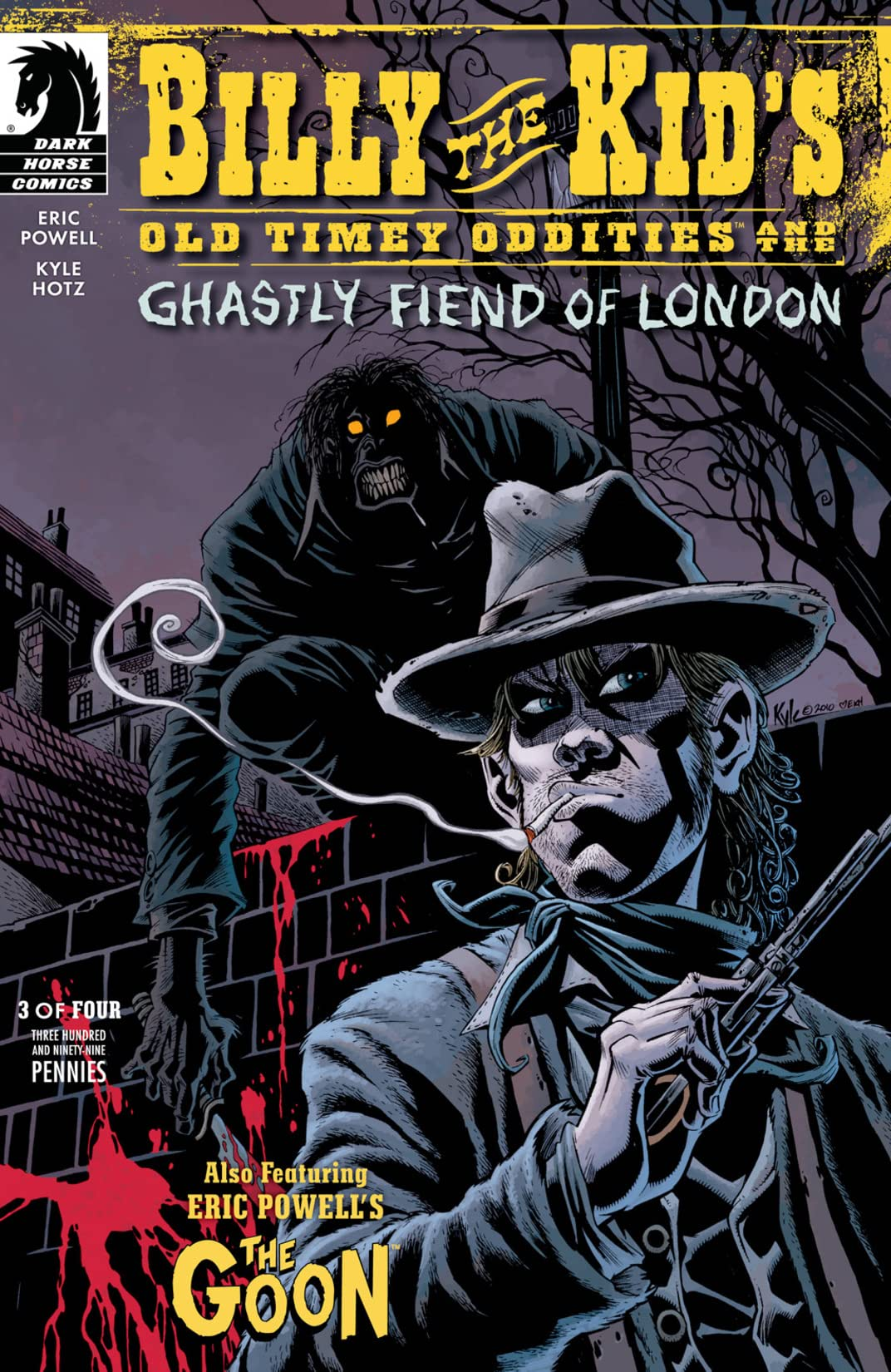 Billy the Kid's Old Timey Oddities and the Ghastly Fiend of London #3