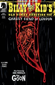 Billy the Kid's Old Timey Oddities and the Ghastly Fiend of London #4