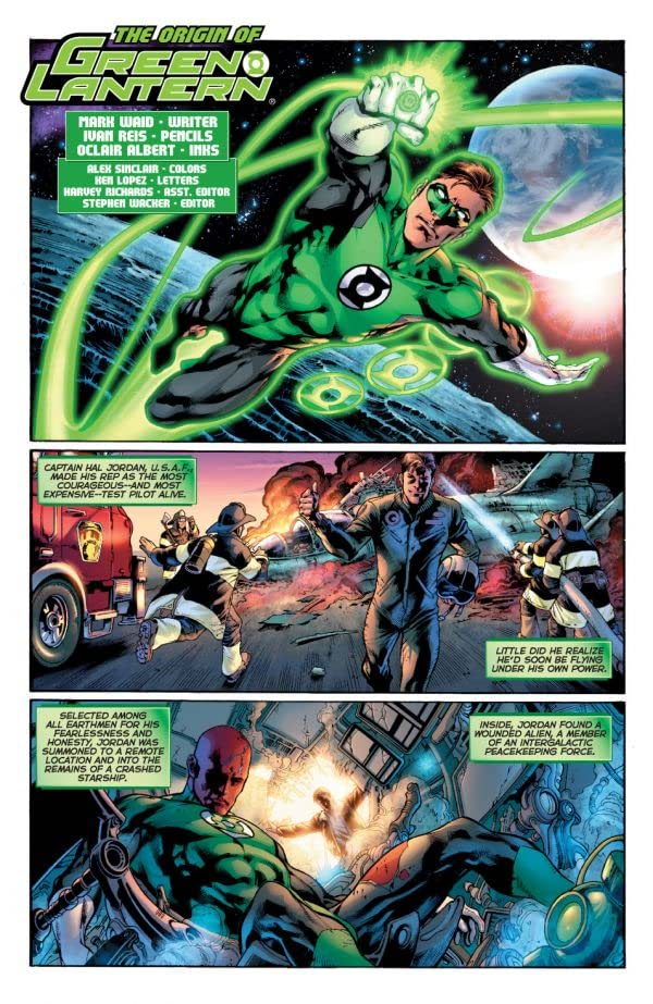 The Origin of Green Lantern