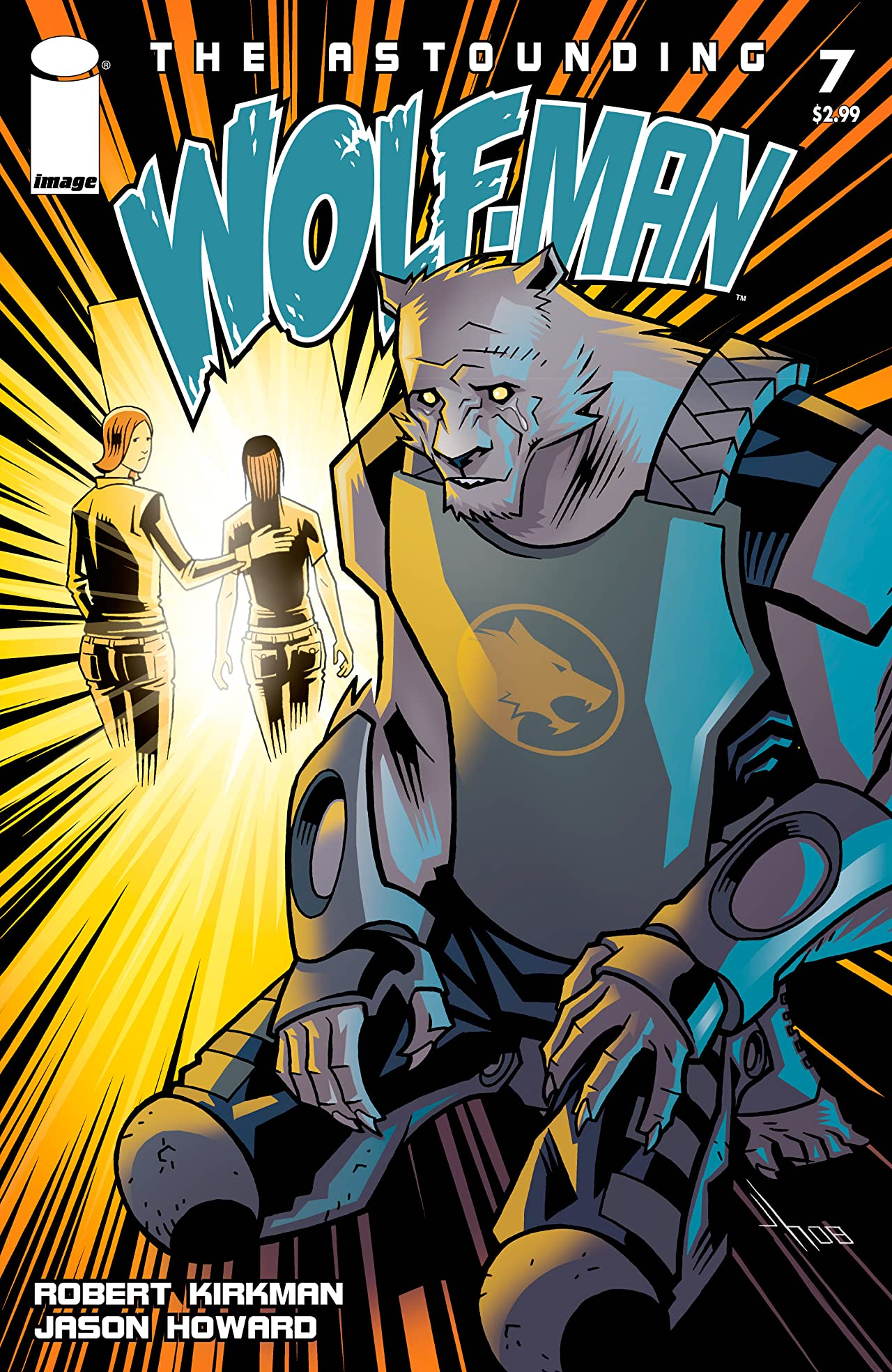 The Astounding Wolf-Man #7