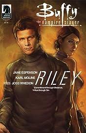 Buffy the Vampire Slayer Season 8: Riley