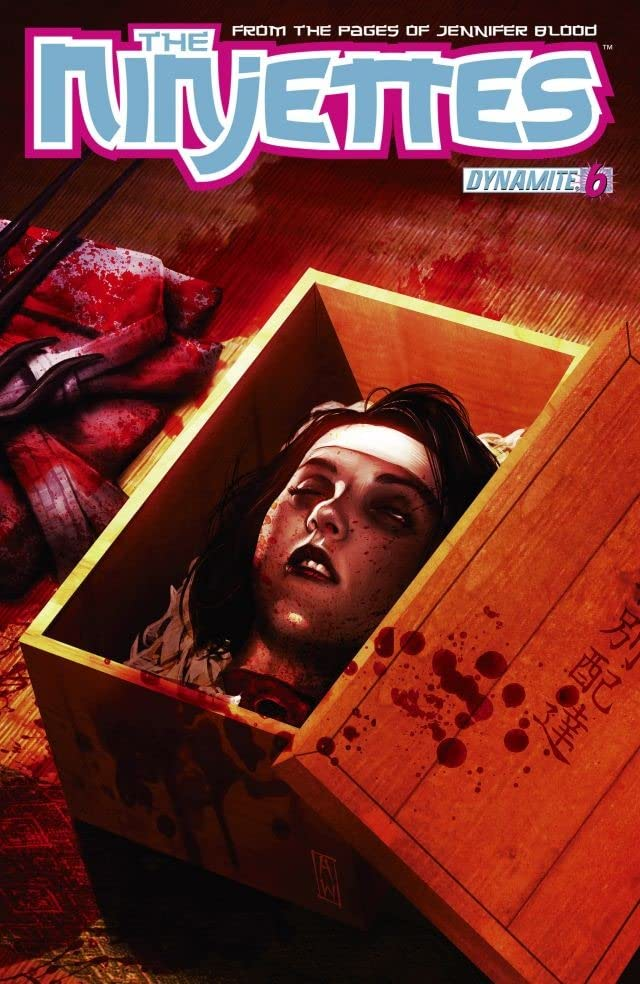 Garth Ennis' The Ninjettes #6