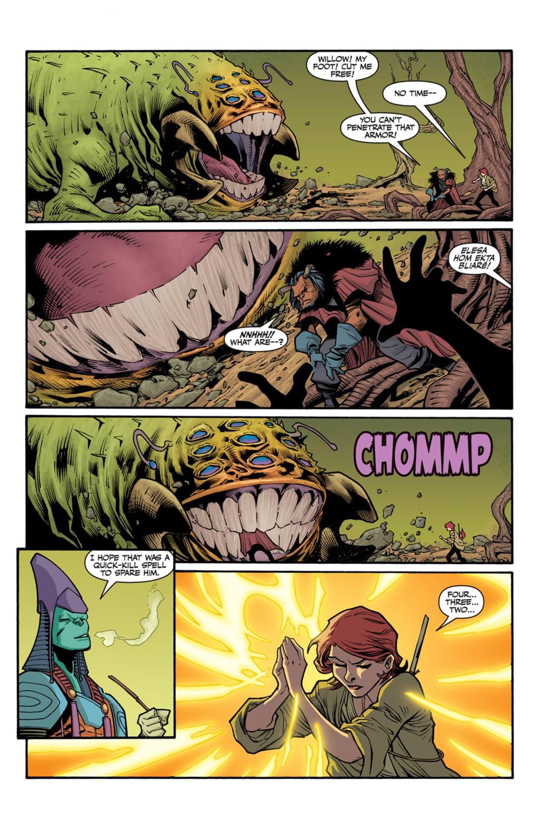 Buffy the Vampire Slayer: Willow's Wonderland #2