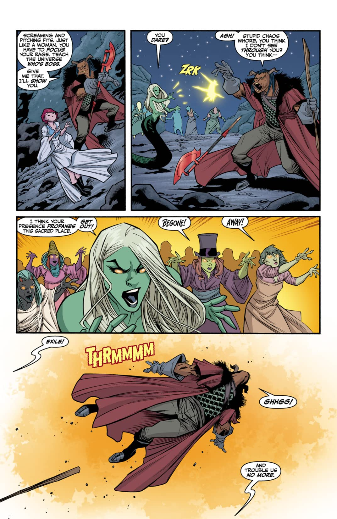 Buffy the Vampire Slayer: Willow's Wonderland #3