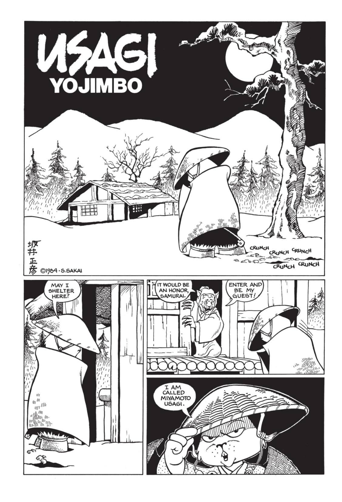 Classic Usagi Yojimbo #1