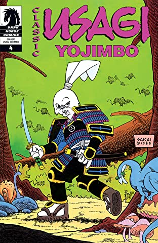 Classic Usagi Yojimbo No.4
