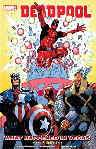 Deadpool Tome 5: What Happened In Vegas