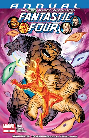 Fantastic Four (1998-2012) Annual #33
