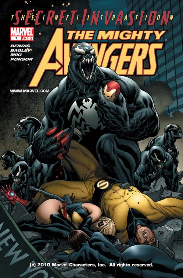 Mighty Avengers (2007-2010) #7