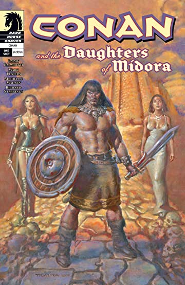 Conan and the Daughters of Midora #1