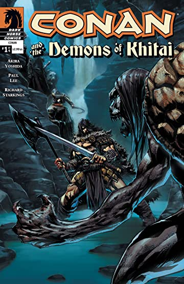 Conan and the Demons of Khitai #1