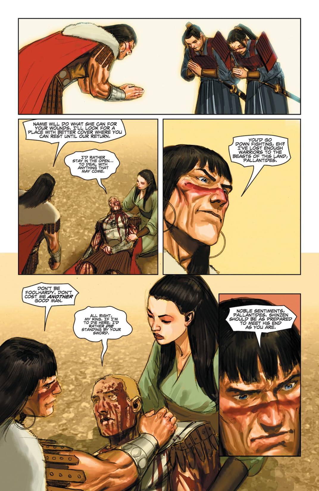 Conan and the Demons of Khitai #3