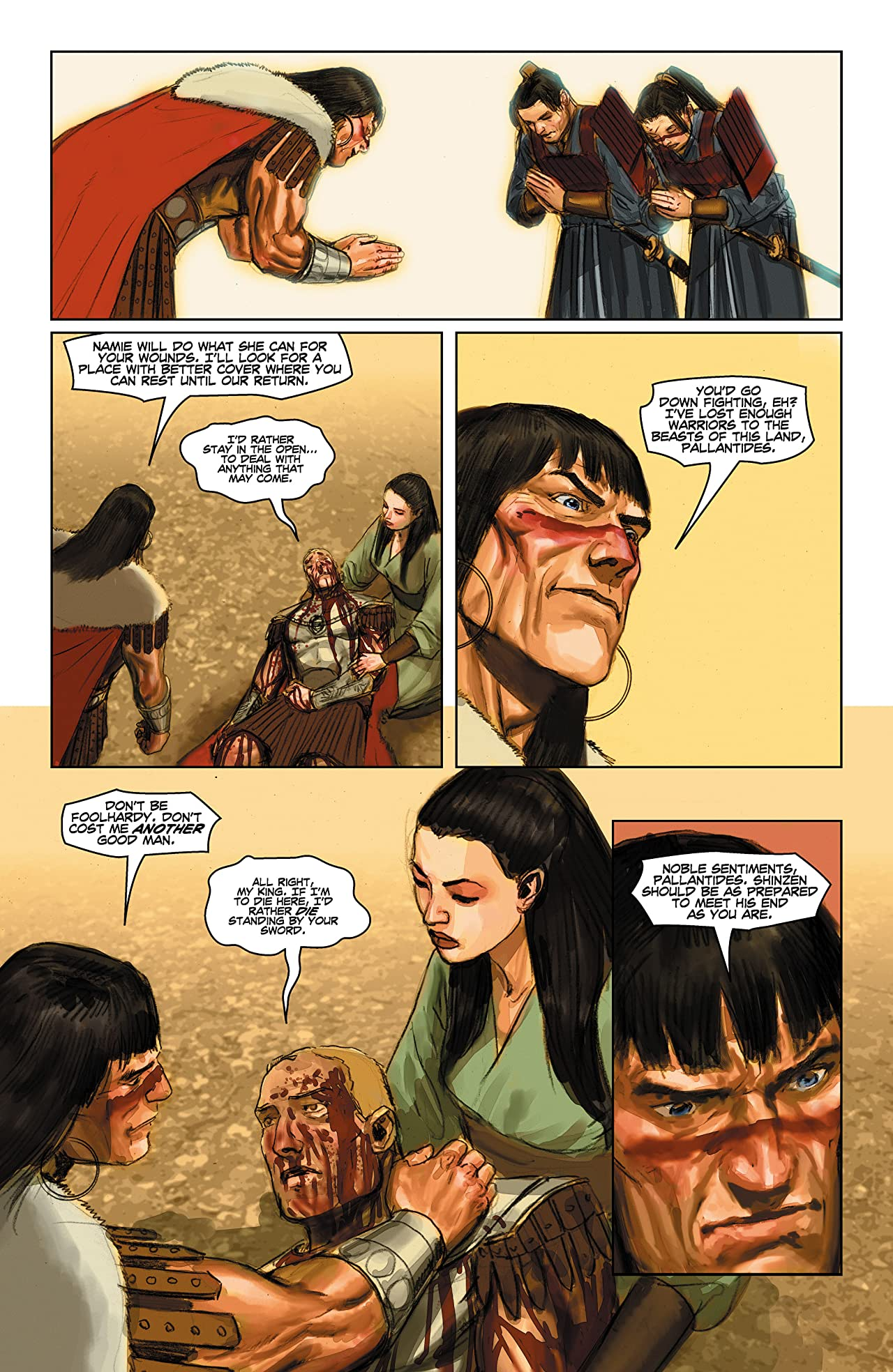 Conan and the Demons of Khitai #3