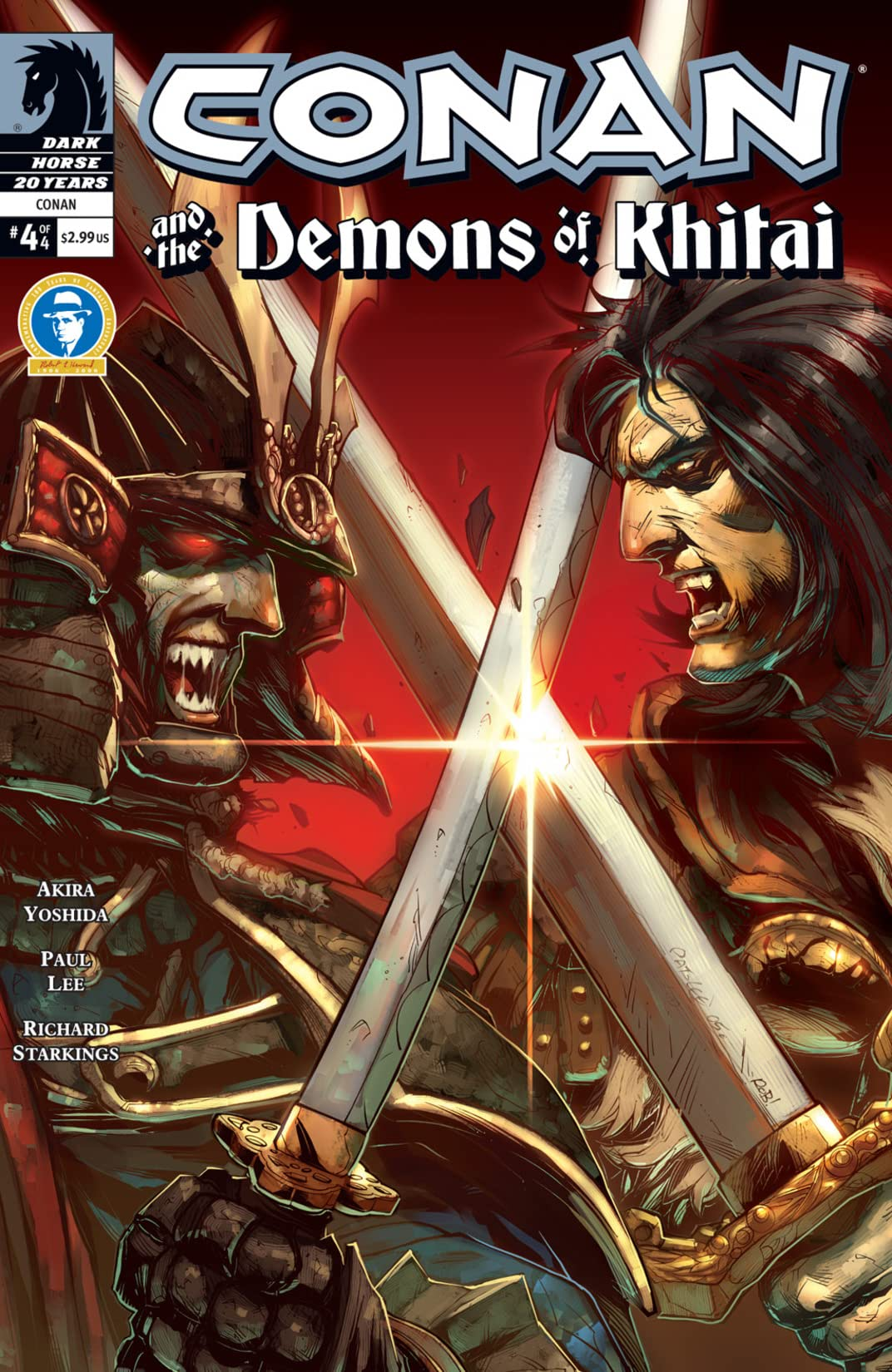 Conan and the Demons of Khitai #4