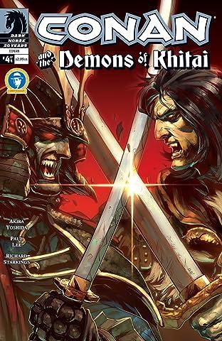 Conan and the Demons of Khitai #4