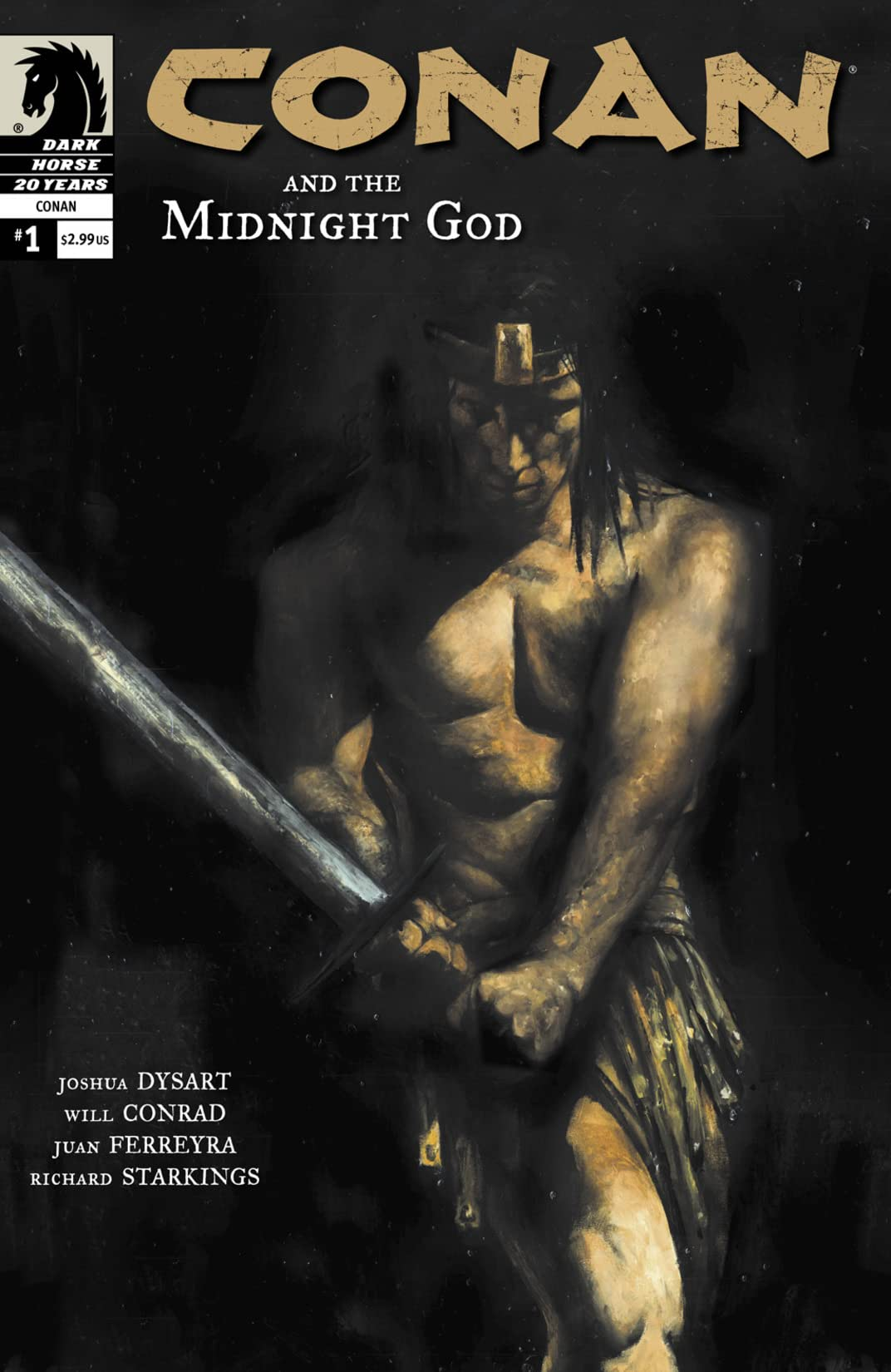 Conan and the Midnight God #1