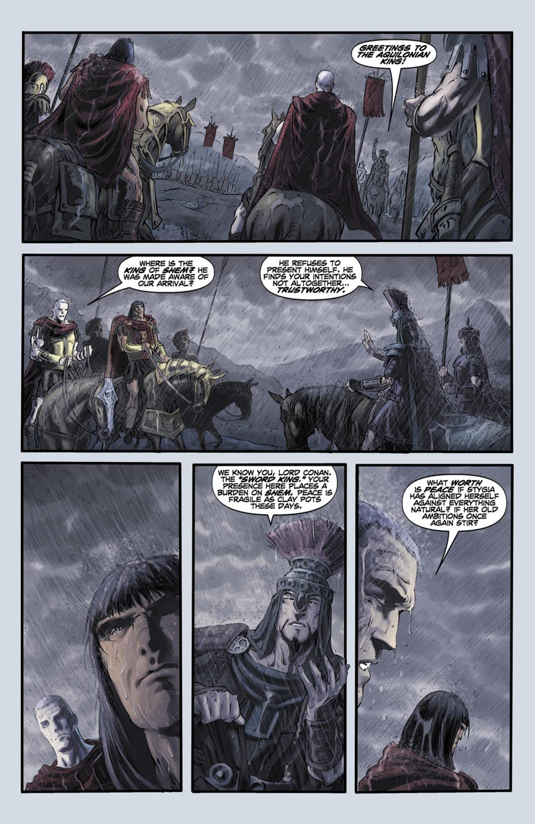 Conan and the Midnight God #2